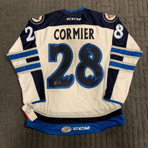 Other - Autographed Patrice Cormier Manitoba Moose Jersey
